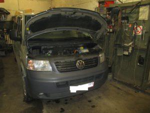 Ремонт ЭБУ EDC16U1 от VW T5 2.5TDi в Липецке!
