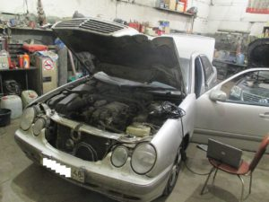 Ремонт нестандартного дефекта блока SRS Mercedes W210 в Липецке!
