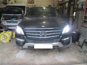Mercedes ML350 W166 не включается зажигание, не заводится после стоянки — история маленькой жадности при покупке большой машины.