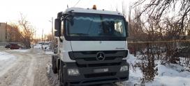 Отключение Мочевины на Mercedes Actros 2631 в Липецке!