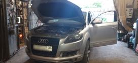Завели Audi Q7 3.0TDI BKS в Липецке!