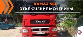 Отключение Мочевины на КАМАЗ 5490 в Липецке!