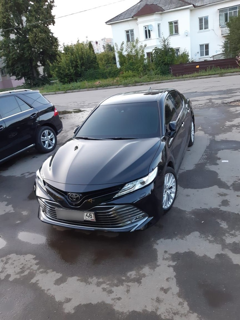 Чип Тюнинг Toyota Camry XV70 3.5L в Липецке, 249 лошадок в 301 лошадь!
