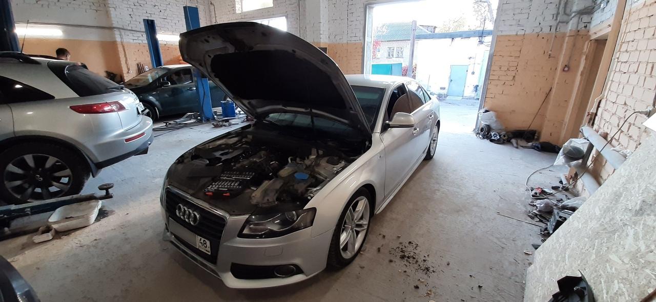Отключение клапана EGR Audi A4 2.0TDI в Липецке!