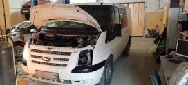 Сложный ремонт ЭБУ SID208 Ford Transit в Липецке!