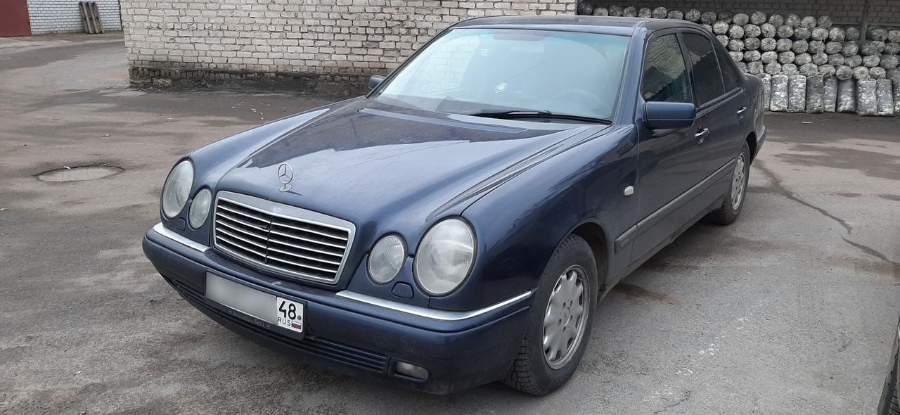 Прописать ключ для Mercedes W210 в Липецке!