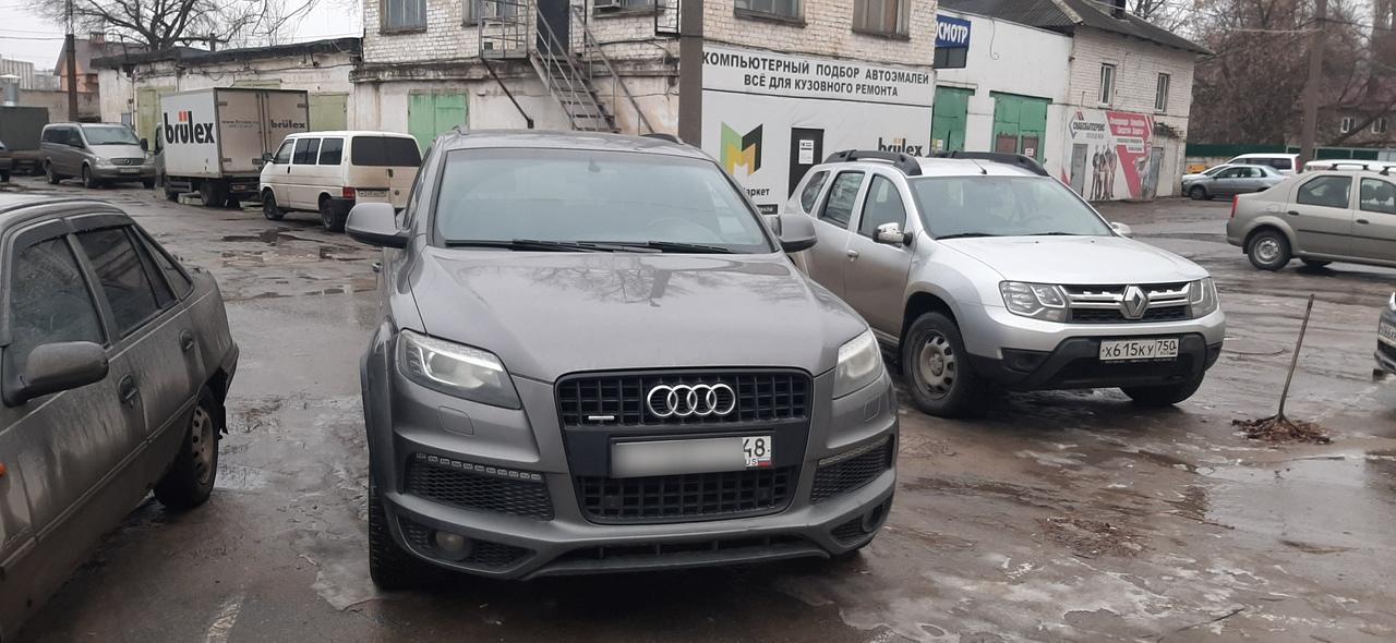 Ремонт блокиратора J518 на Audi Q7 в Липецке!