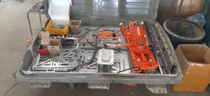 Замена батареи Nissan Leaf 24Kw на 30Kw в Липецке!