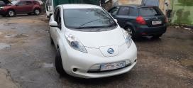 Неполное ТО Nissan Leaf AZEO из Воронежа в Липецке!