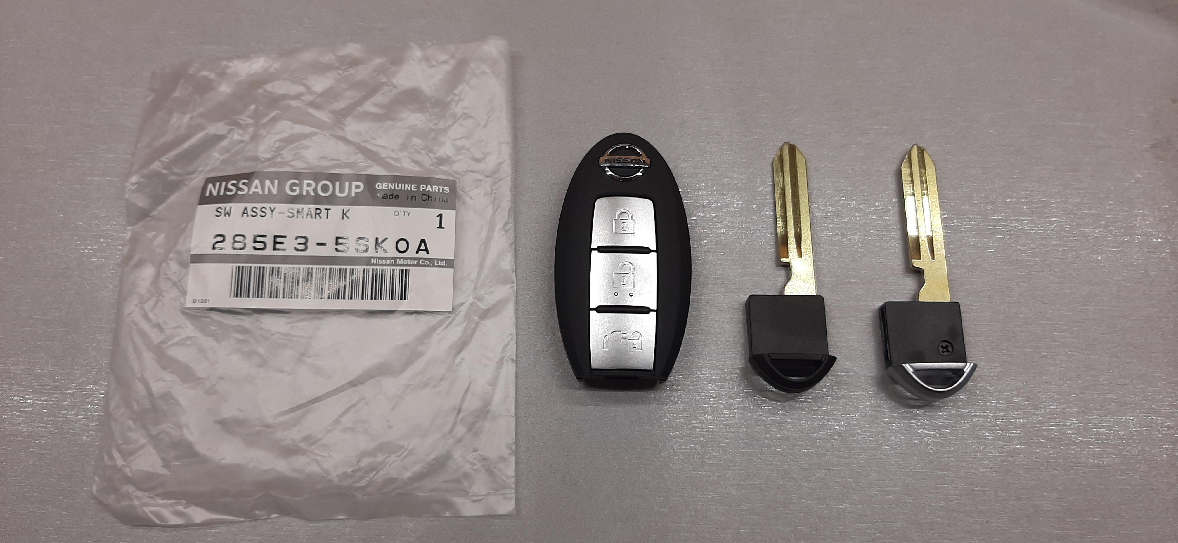 Ключ для Nissan Leaf ZE1 в Липецке!
